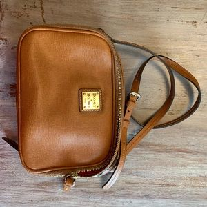 Great small Dooney & Burke Genuine crossbody bag
